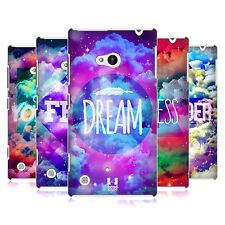 HEAD CASE CHROMATIC CLOUDS SNAP-ON BACK COVER FOR NOKIA LUMIA 720