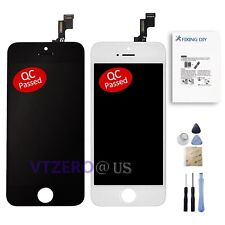 New LCD Digitizer Screen Replacement Assembly + Repair Tools For iPhone 5 5S 5C