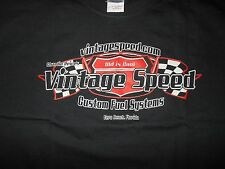 VINTAGE SPEED HOT ROD CAR T-SHIRT STROMBERG 97 RAT TOD OLD SCHOOL