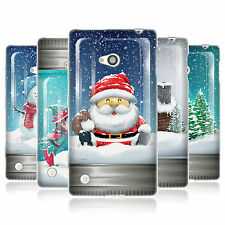 HEAD CASE CHRISTMAS IN JARS GEL SKIN BACK CASE COVER FOR NOKIA LUMIA 720