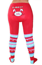 Knitted Tights For Adults Cotton Baby Diaper Tights Red