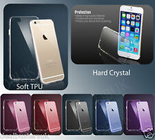 Ultra Thin Crystal Clear Transparent Case Cover for Apple iPhone 6 & 6 Plus