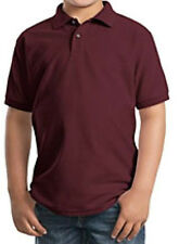 YOUTH Gildan Cotton/Poly Jersey Polo Sport Shirt new without tags box8103 C
