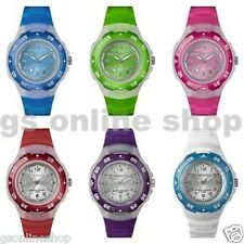 *TIMEX MARATHON COLOURED SPORT WATCH RESIN JELLY STRAP GENUINE *VARIOUS COLOURS*