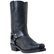 Dingo Motorcycle Boots Mens Jay Harness Black DI19057