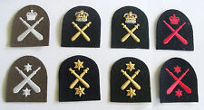 ROYAL MARINES PHYSICAL TRAINING INSTRUCTOR (PTI) TOMBSTONE BADGES
