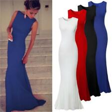 2014 Womens Prom Ball Cocktail Party Long Dress Slim Maxi Formal Evening Gown #S