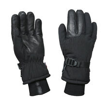 Black Cold Weather Military Waterproof Thermoblock Tricot Insulated Gloves