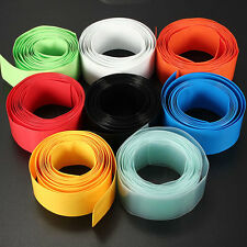 New 29.5MM Φ18.5MM 2M PVC Heat Shrink Tubing Wrap for Li-ion 18650 18500 Battery