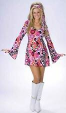 Go Sexy Adult Halloween Costume Retro 60s 70s Outfit