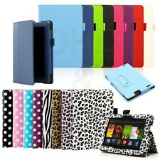 "Slim Folding PU Leather Case Cover For 2013 All New Kindle Fire HD 7 7""  2nd Gen"