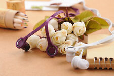 3.5mm In Ear Headphones Mic Headset for HTC Rhyme Wildfire S Aria Salsa ChaCha