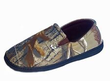 REALTREE AP Northern Trail Mens Camouflage Comfort Slippers Sizes 8-10.5 $38 NIB
