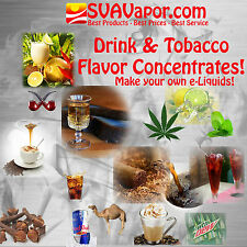 SVA PREMIUM eliquid E-juice E liquid vape Flavors to Make your own liquids!