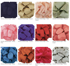 WIRED ANISHA RIBBON - Available in Multiple Widths - Beautiful Ribbon
