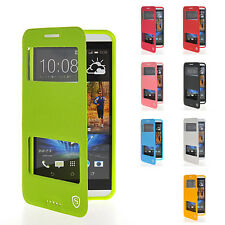 Protective Leather Flip Case Cover for HTC Desire 816