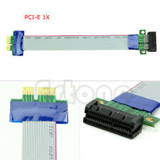 1Pc PCI-Express PCI-E 1X/16X to 16X Riser Extender Card Ribbon Extension Cable
