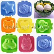 Boiled Egg Sushi Rice Mold Bento Maker Sandwich Cutter Decorating Mould Tool