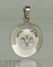 PERFECT GIFT - Photo Engraved Pendant - your photo and text permanently engraved
