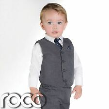 Baby Boys Grey Suit, Page Boy Suits, Boys Wedding Suits, Kids Suits, Boys Suits
