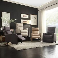 TRIBECCA HOME Saipan Modern Fabric Recliner Club Chair