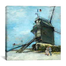 iCanvas Vincent van Gogh 'Le Moulin de la Galette' Canvas Print Wall Art