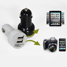 Mini Car Charger Adaptor Dual USB 2-Port for Smartphone