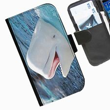 Sea Creatures Leather wallet personalised phone case for Samsung Galaxy