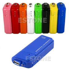 New AA Battery Emergency USB Charger With Flashlight For iPhone 4G 3G 3GS iPod