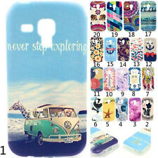 New Soft Silicone TPU Back Case Cover For Samsung Galaxy S Duos GT-S7562 S7560