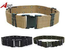 "2.25"" Tactical Military Army Airsoft Outdoor Nylon Cambat Heavy Duty Web Belt"