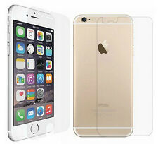 "Front & Back Clear Full Body Screen Protector Film Guard for iPhone 6 4.7"" Lot"