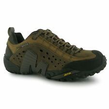 Merrell Mens Intercept Walking Hiking Outdoor Shoes With Breathable Mesh Lining