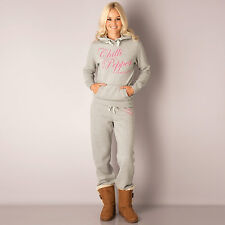 Womens Chilli Pepper Suit In Grey Marl  This Designer Tracksuit For Women