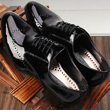 New Premium Designer Mens Leather Oxfords Dress Shoes