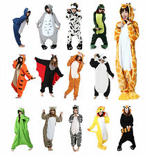 Kids Girls Boys Animal Onesie Fancy Dress Pyjamas Age 8 9 10 11 12 Christmas