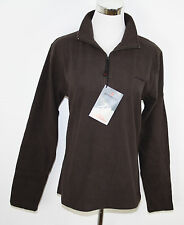 Atomic Woman Micropolar Pile Pullover Caffee Marrone Nuovo
