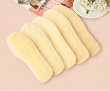 Unisex Winter Warm Fleece Thermal Insoles Boot Shoe Pads Protector One Pair JT15
