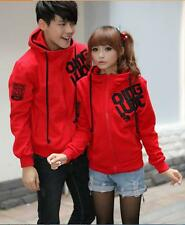 New Korean Stytle keep warm  zipper  Sweater Hoodie Couple Lover's Clothes