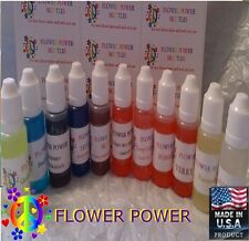 10ml & 30ml FLAVOR CONCENTRATES FOR CAKE DECORATING, CANDIES & E-LIQUID, E-JUICE