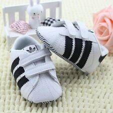 White Baby Shoes Soft Sole Baby Boys Girls Sneakers Shoe 0-12 Months