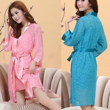 Womens Silk Blend intimates Bath Home Sleepwear Underwear Pajamas Robes 2014