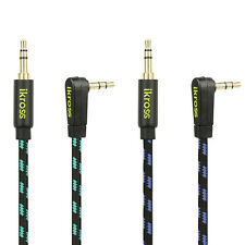 3.5mm Braided Stereo Auxiliary Aux Audio Cable Cord M/M For Cell Phone Tablet PC