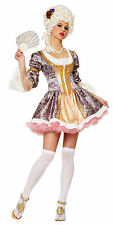 Medieval French Marie Antoinette Queen Dress Renaissance Adult Womens Costume