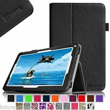 "Leather Case Cover iRulu 10 10.1"" inch Quad Core Android Tablet PC Dual Cameras"