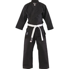 Blitz Adult 100% cotton Student Judo Suit in black gi