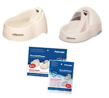 CAT & DOG WATER FOUNTAINS & FILTERS - Keep a Clean Fresh Flow of Water for Pets