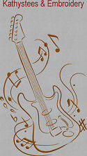 Cord Instruments - Machine Embroidery Designs Set of 10 On CD - 5x7 Hoop