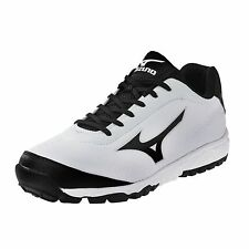 Mizuno Blaze Trainer 2 Men's Baseball Turf Shoes NIB White/Black Size 10.5