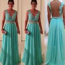 New Long Evening Party Ball Prom Gown Formal Bridesmaid Cocktail Dress CT